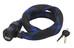 ABUS Ivera Cable 7220 pyöränlukko , musta